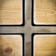 meble z drewna i metalu