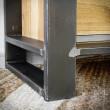 metalowa noga szafki loft