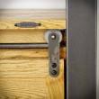 metalowa prowadnica drzwi