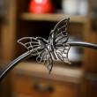 motyl świecznik