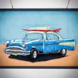 obarz 3D auto z kuby