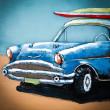 Auto z lat 60 obraz 3D