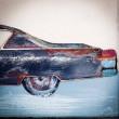 auto metalowe obraz