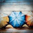 parasolki obraz 3D