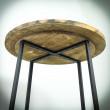 stoły okrągłe drewniane