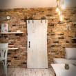 drewniane drzwi surowe
