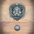 ozdobna kołatka drzwiowa
