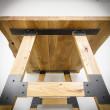 noga do stolika drewniana meblowa