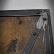 rusty metal drzwi przesuwne