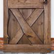 drzwi dębowe Barn olej brąz usłojenie