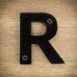 rustykalne litery