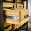 solidna szuflada regał industrialny