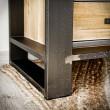 stalowe meble w loftowym stylu