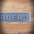 emblemat na drzwi piżarnia