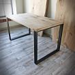 stół z blatem dębowym od producenta