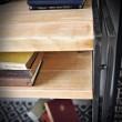 półki vintage, retro, loft meble ze stali i drewna