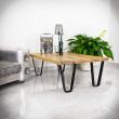 metalowe nogi do ławy i stolika