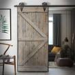drzwi w ramie bejcowane szare