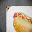 szyld dekoracyjny hot dog