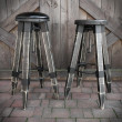 tapicerowany stołek
