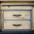 uchwyty metalowe szafka rtv loft
