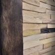 różne odcienie drewna