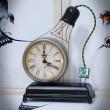 zegar dekoracyjny żarówka