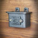 stalowe pudełko na kapsle po piwie