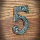 cyfra żeliwna pięć