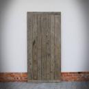 Tył drzwi w kolorze szarym Country