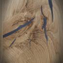 blat z drewna dębowego z wypełnionymi szczelinami i sękami