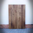 blaty z drewna dębowego z prostymi krawędziami