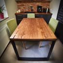 stół drewniany dębowy do kuchni