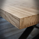 rustykalny blat drewniany do ławki