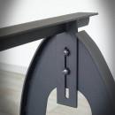 podstawa stalowa ławy