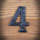 cyfra żeliwna cztery