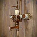 dawny zestaw prysznicowy