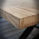 blat z drewna dębowego