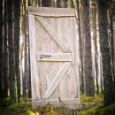 Drzwi z litego drewna dębowego