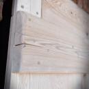 drzwi drewniane retro