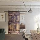 drzwi rustykalne do wnętrza w starym stylu
