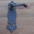 Klamka do drzwi ozdobna