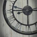 zegar stalowy