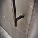 metalowe stare drzwi