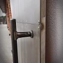 vintage drzwi metalowe