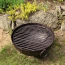 grill stalowy solidny