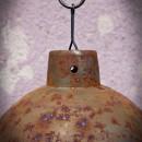klosz pordzewiany do lampy