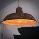 klosz lampy pordzewiany