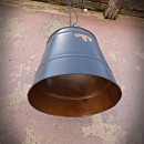 retro lampy z wiader