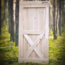 Naturalne drzwi w naturalnym środowisku